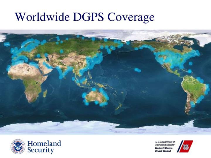 Worldwide DGPS Coverage