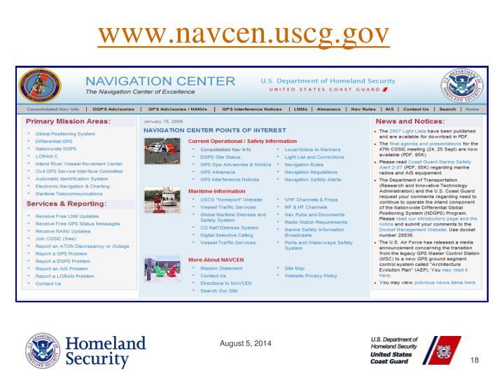 www.navcen.uscg.gov