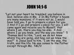 john 14 1 6
