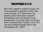 philippians 4 11 13