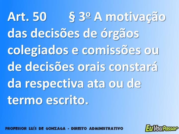 Art. 50 § 3