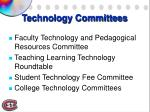 technology committees