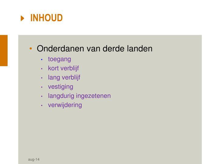 INHOUD