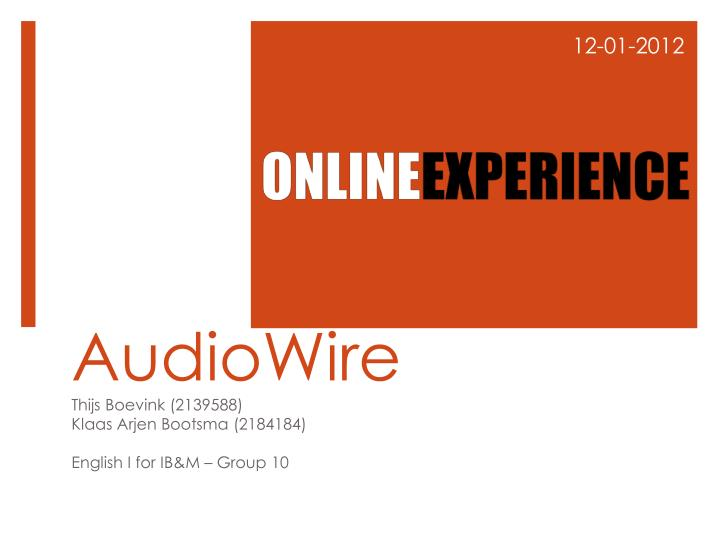 audiowire