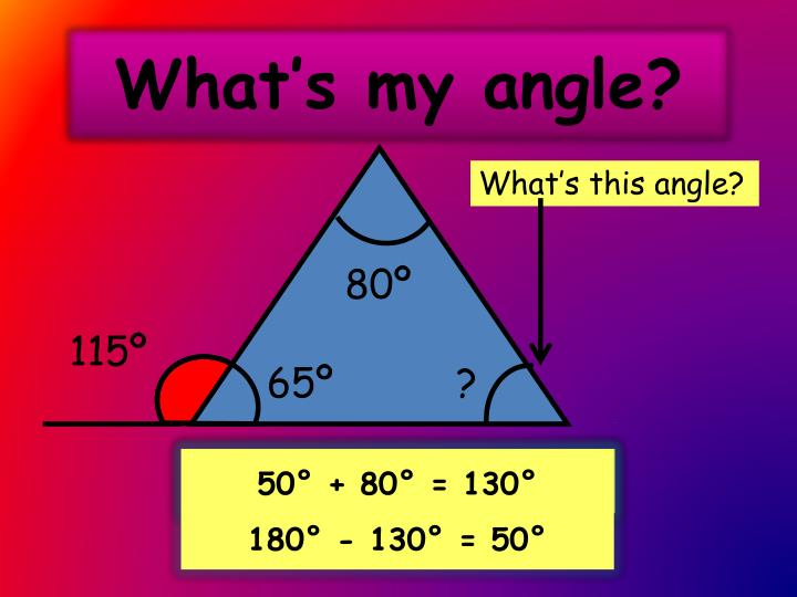 What's this angle?