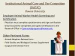 institutional animal care and use committee iacuc rowan university2