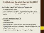 institutional biosafety committee ibc rowan university2