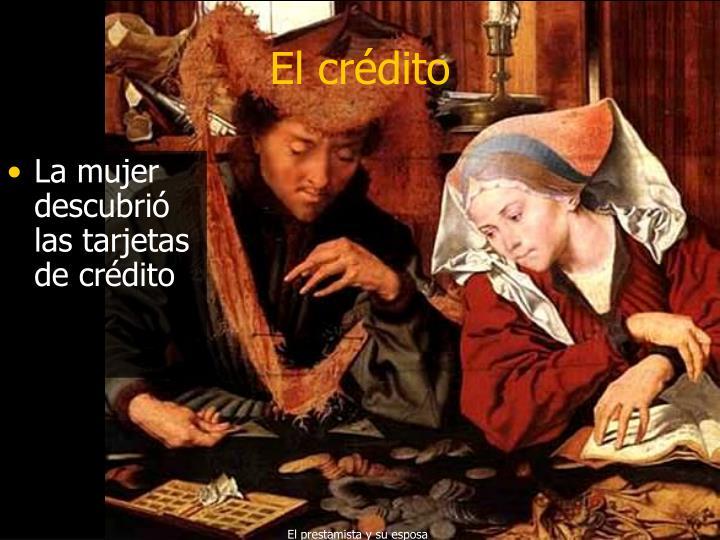 El crédito