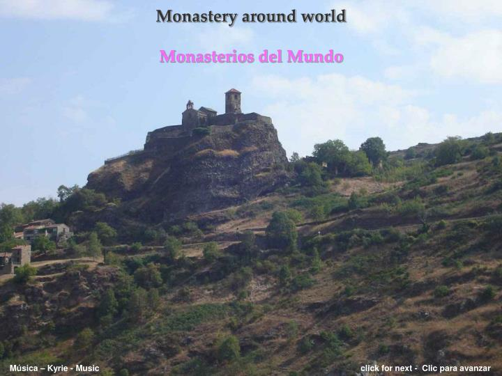 Monastery around world monasterios del mundo