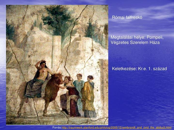 Római falfreskó