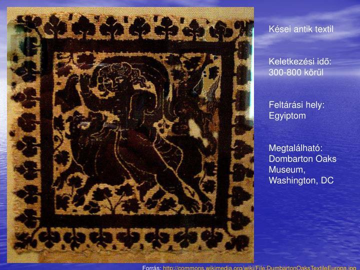 Kései antik textil