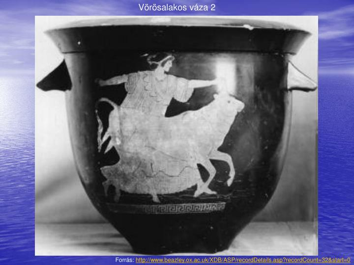 Vörösalakos váza 2