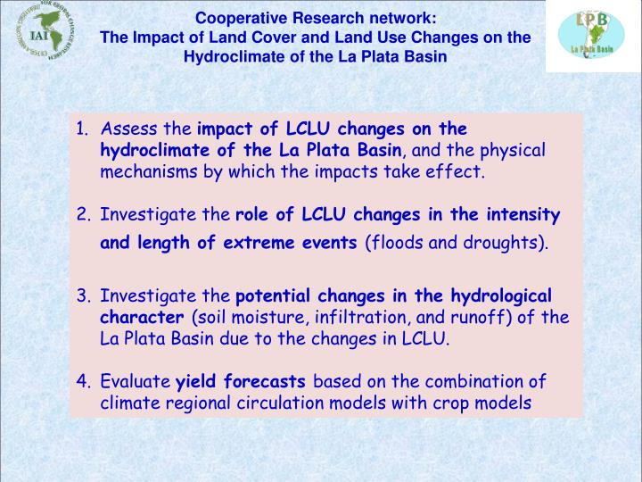Cooperative Research network:
