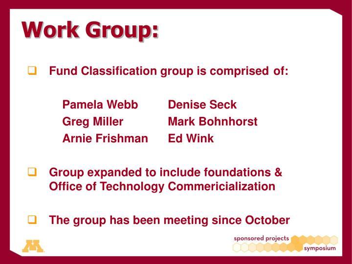 Work Group: