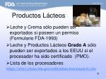 productos l cteos