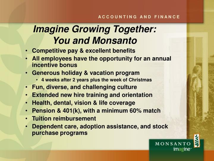 Imagine Growing Together: