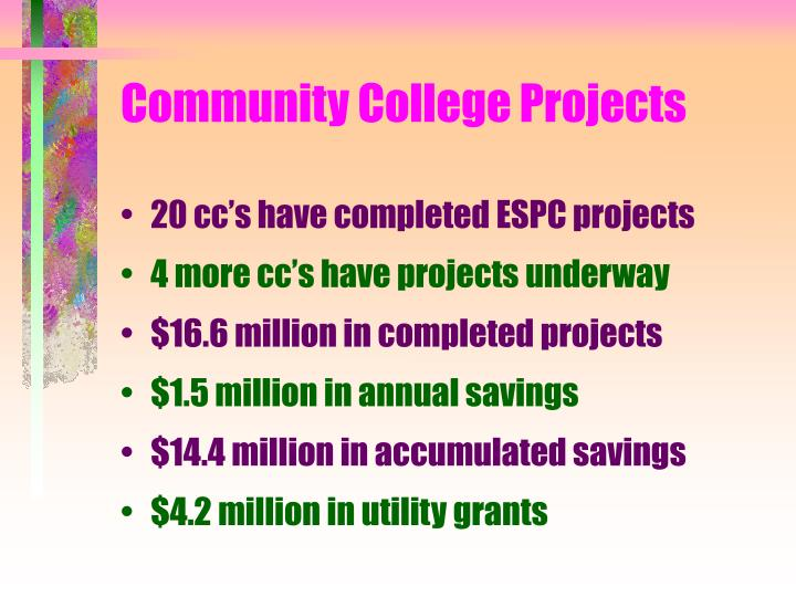 Community College Projects