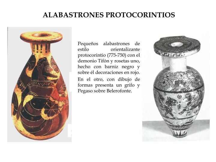 ALABASTRONES PROTOCORINTIOS