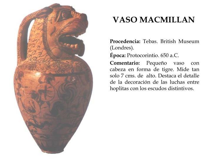 VASO MACMILLAN