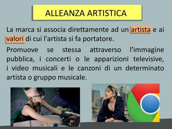 ALLEANZA ARTISTICA