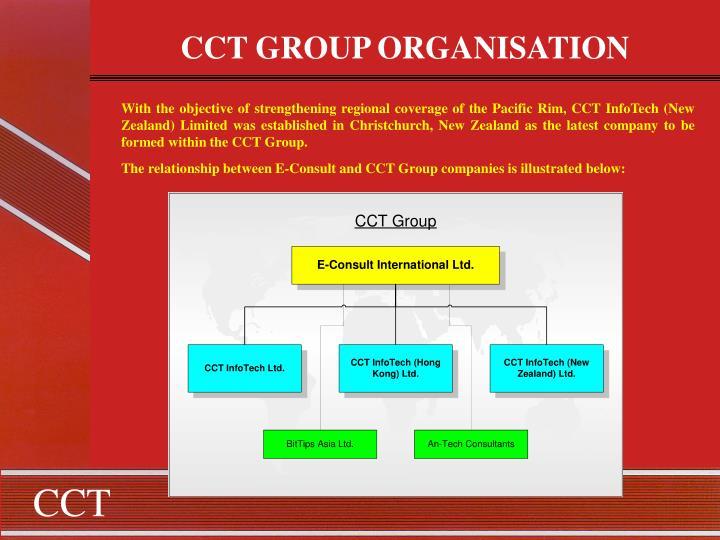 CCT GROUP ORGANISATION
