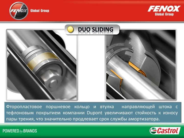 DUO Sliding