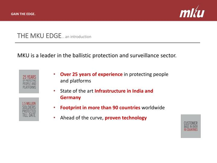 The mku edge an introduction
