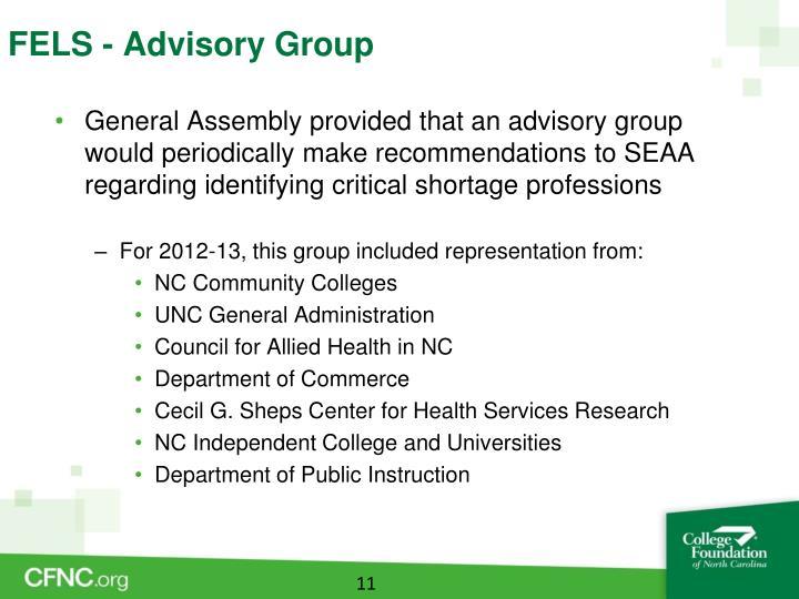 FELS - Advisory Group