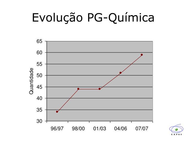 Evolução PG-Química