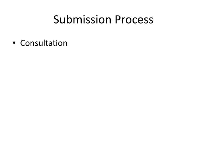 Submission Process