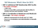 s p measures what s new for 20131