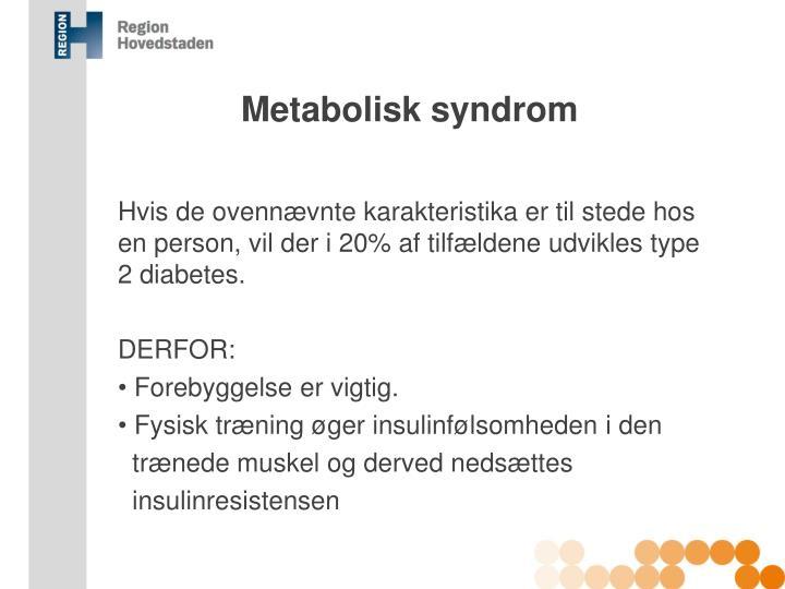 Metabolisk syndrom