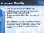 access and eligibility1