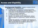 access and eligibility3