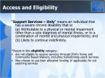 access and eligibility4