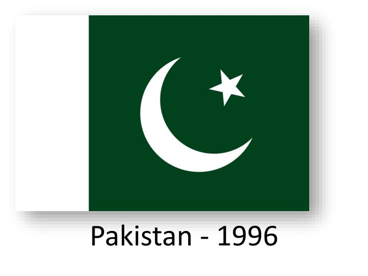 Pakistan - 1996