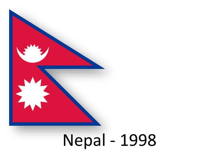 Nepal - 1998