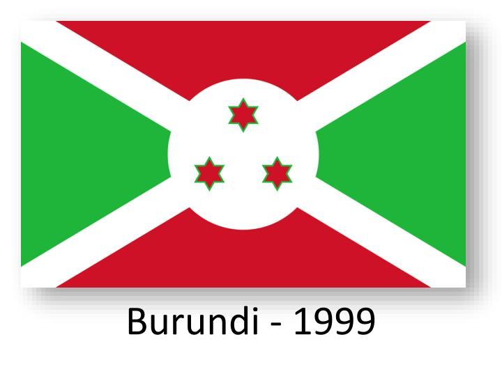Burundi - 1999