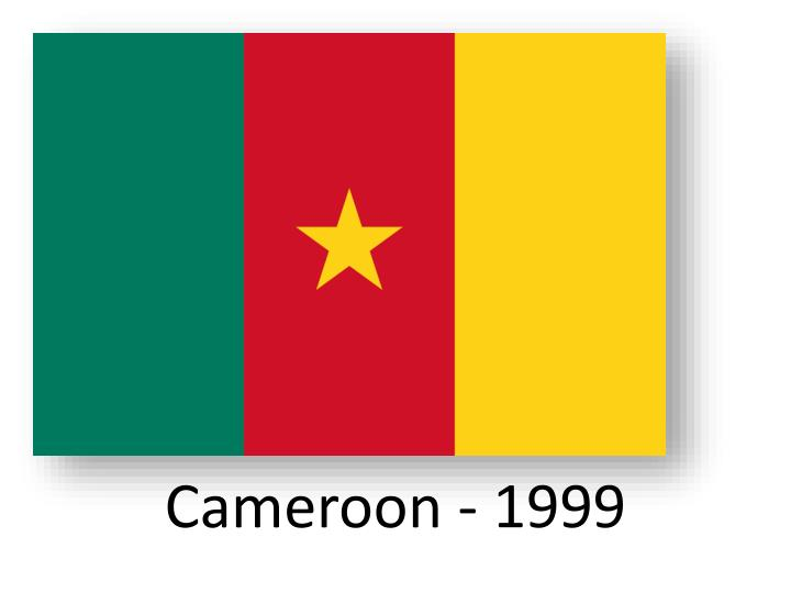 Cameroon - 1999