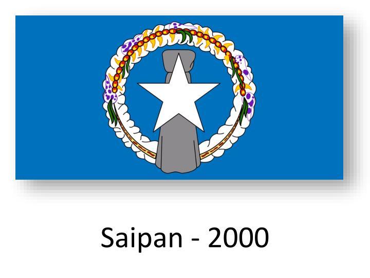 Saipan - 2000