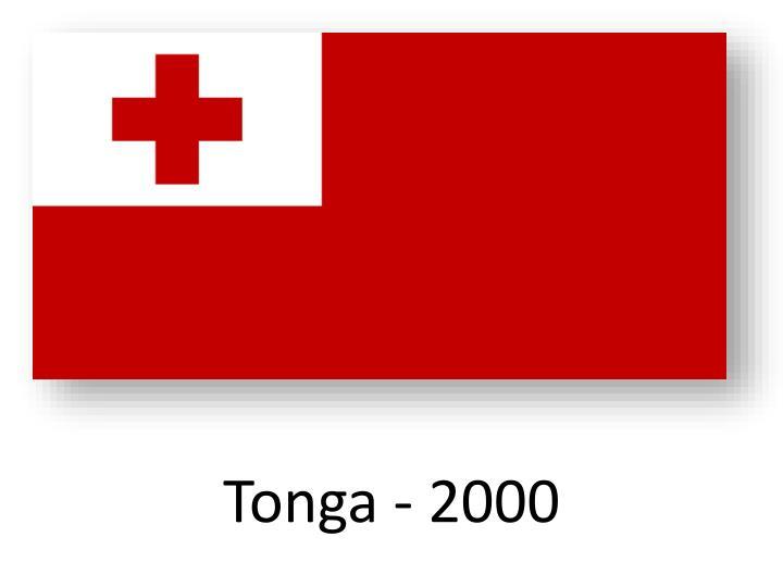 Tonga - 2000
