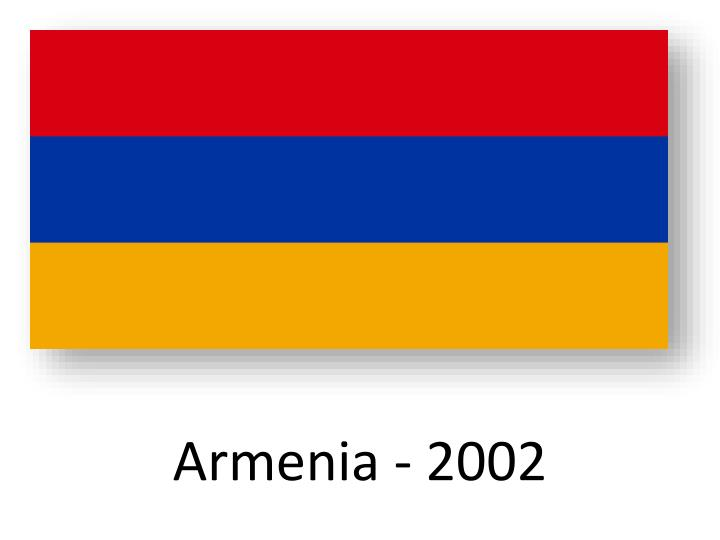 Armenia - 2002