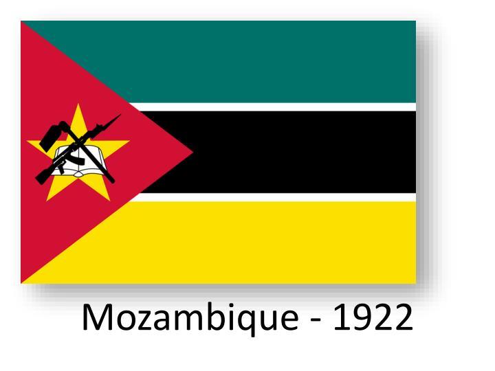 Mozambique - 1922