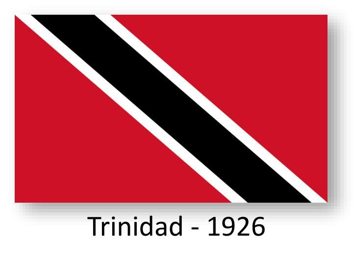Trinidad - 1926