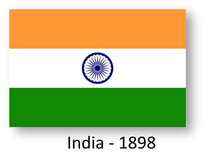 India - 1898