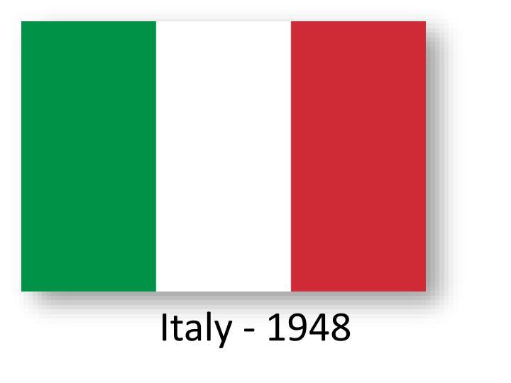 Italy - 1948