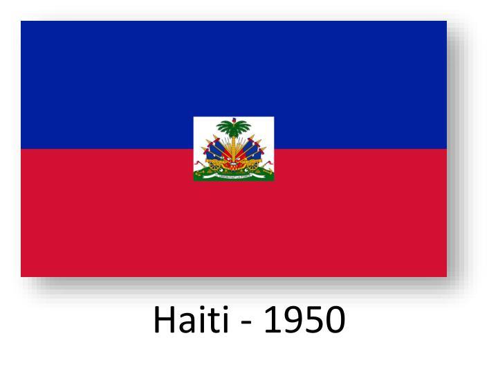 Haiti - 1950