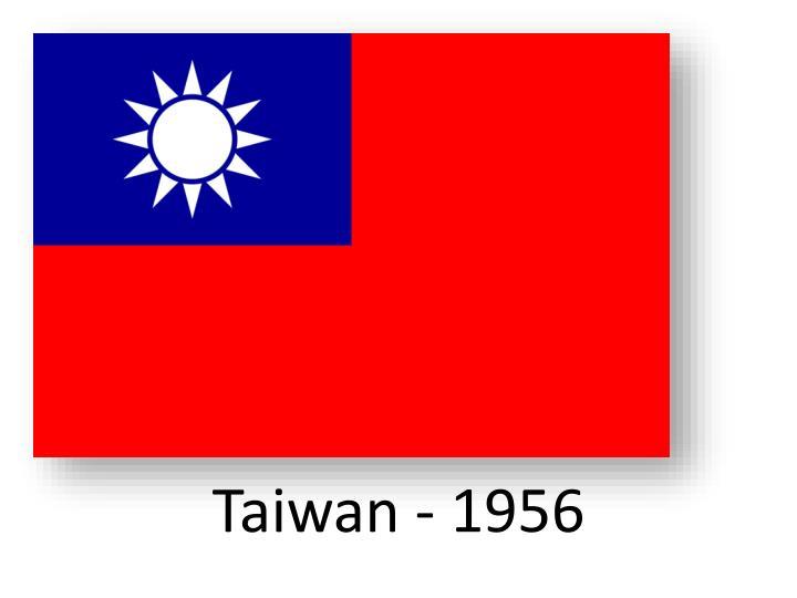 Taiwan - 1956