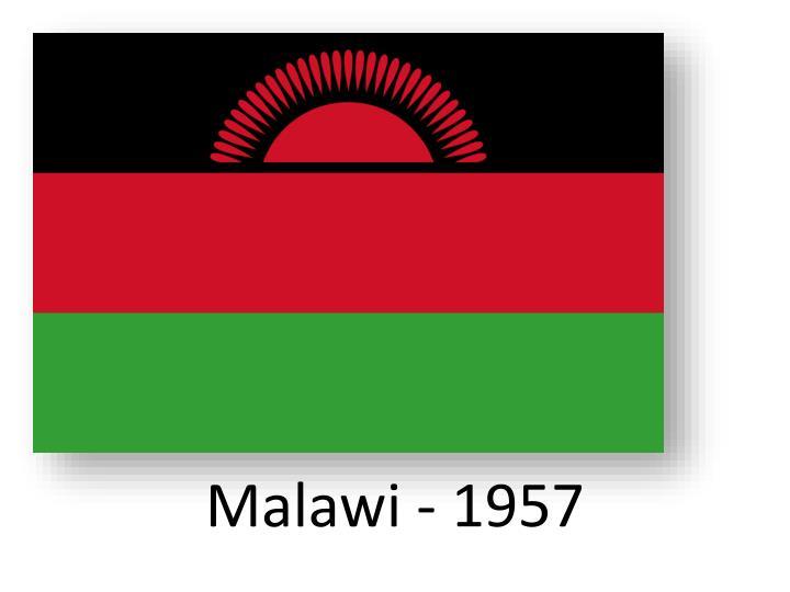 Malawi - 1957