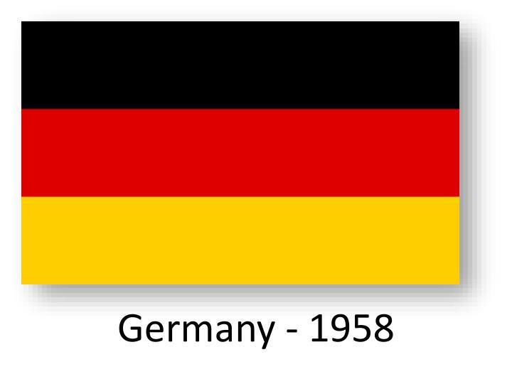 Germany - 1958